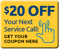 $20 off next service call